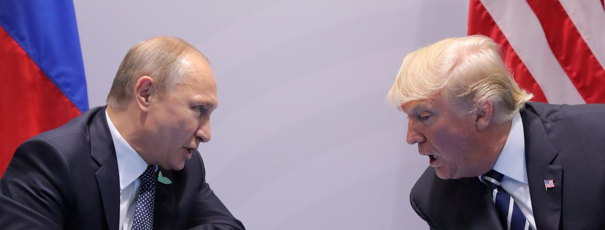Setkání Putina s Trumpem