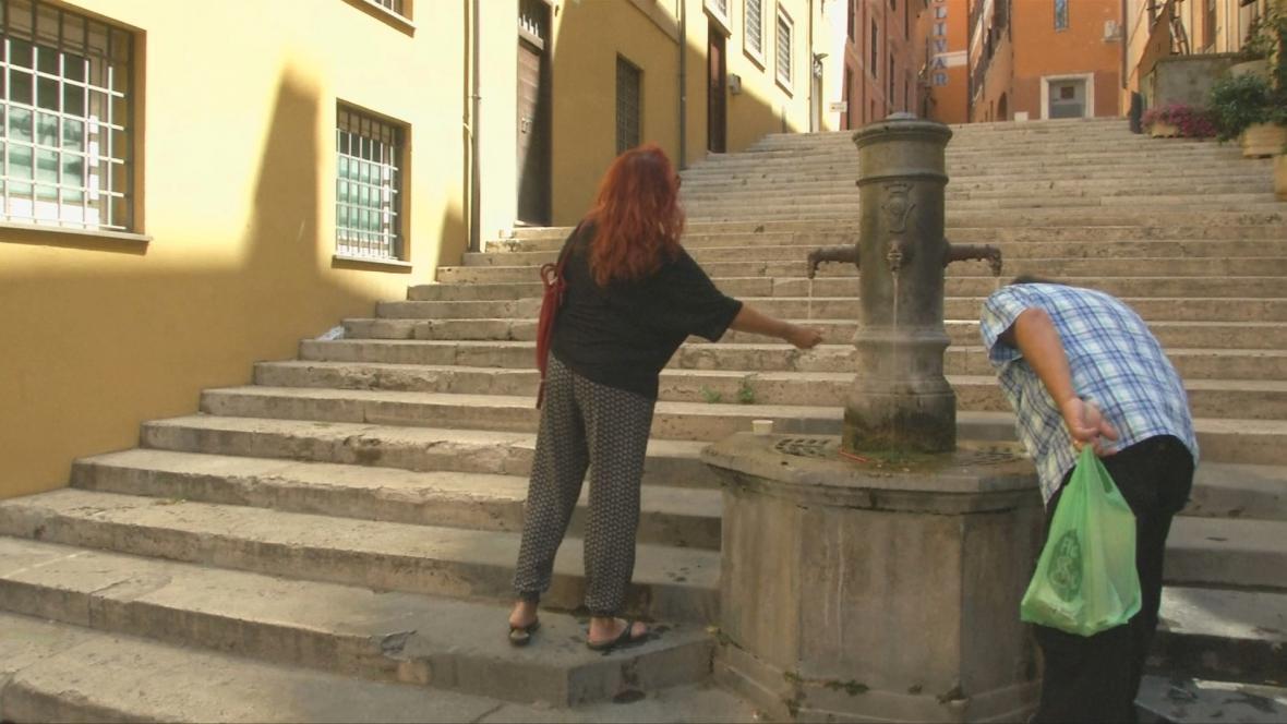 Fontánky jsou odvěkým symbolem Říma