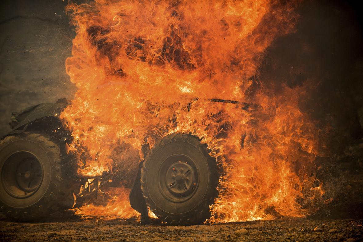Kalifornii zasáhly rozsáhlé lesní požáry