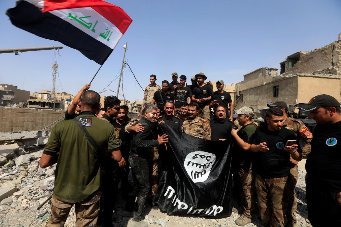 Irácké vládní síly dobyly zpět Mosul