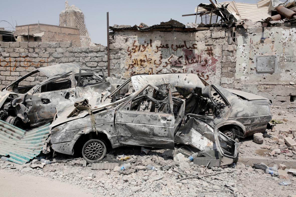 Zkáza v Mosulu