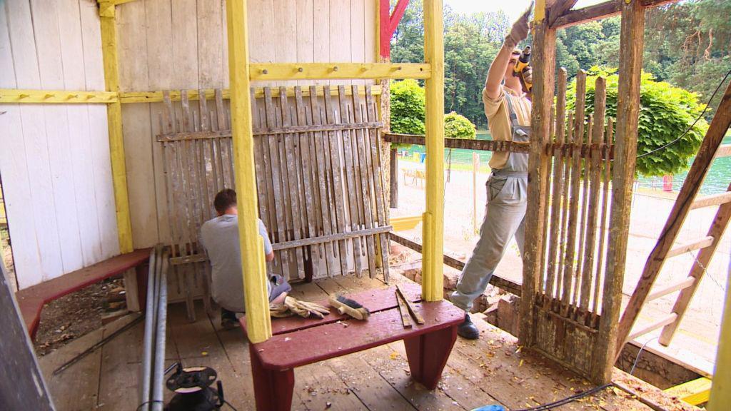 Rekonstrukce koupaliště Dachova