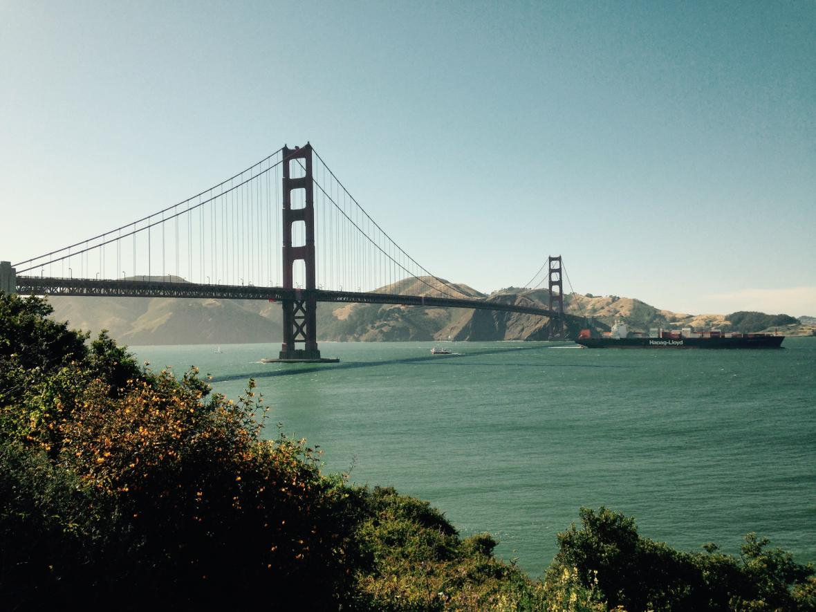 Golden Gate v San Franciscu