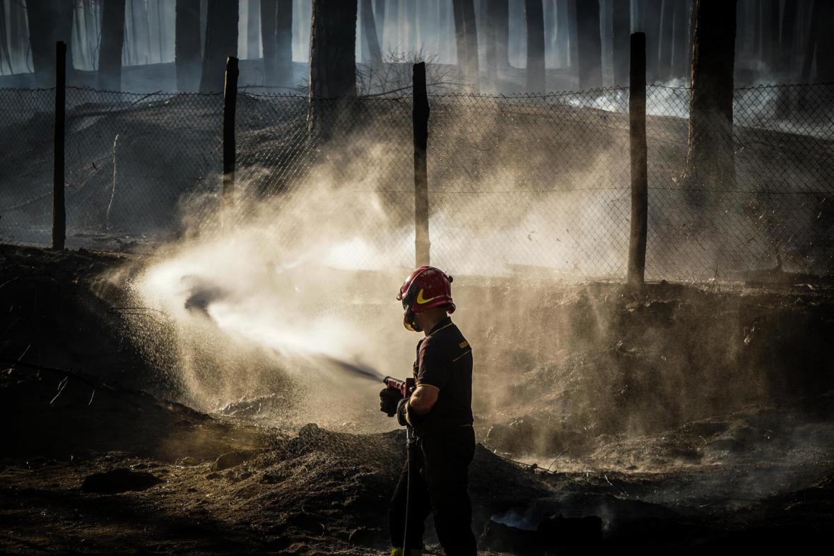 Lesní požáry v Itálii