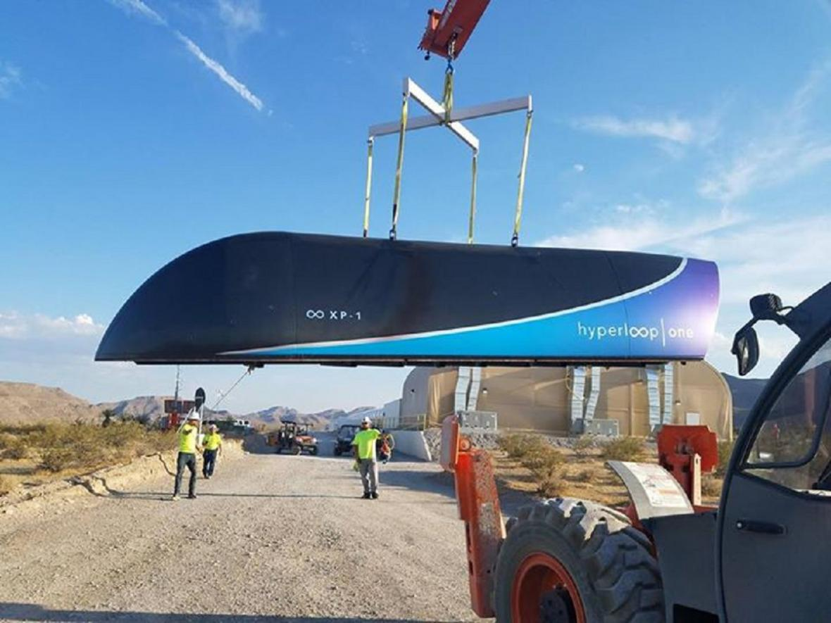 Vůz Hyperloop One