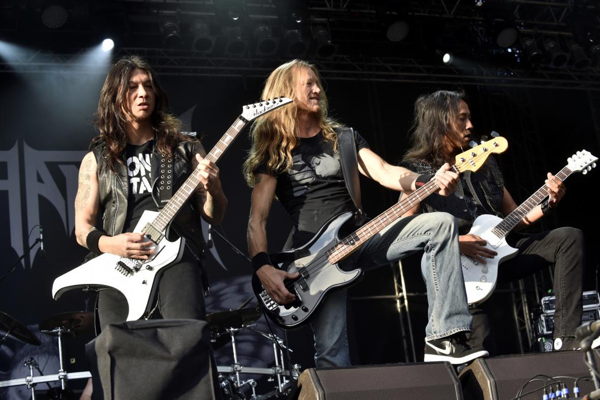 Kalifornská skupina Death Angel vystoupila na mezinárodním hudebním festivalu Masters of Rock