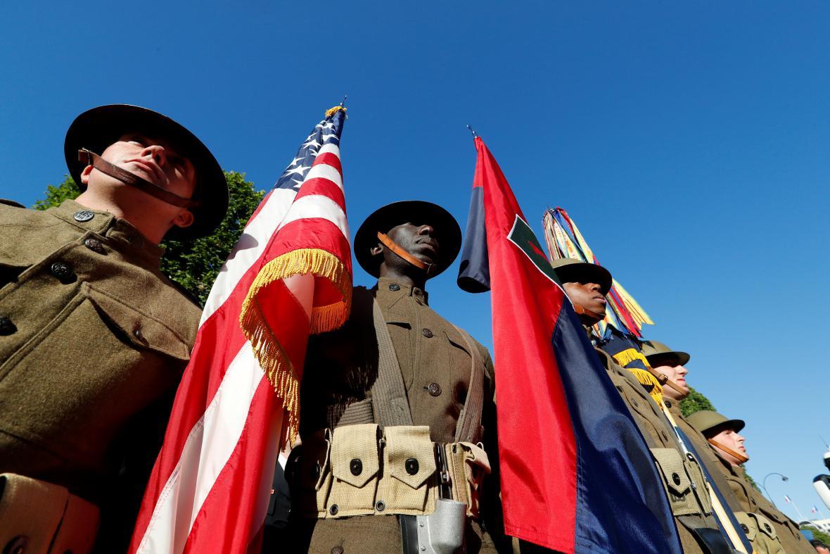 Akce se zúčastní američtí vojáci