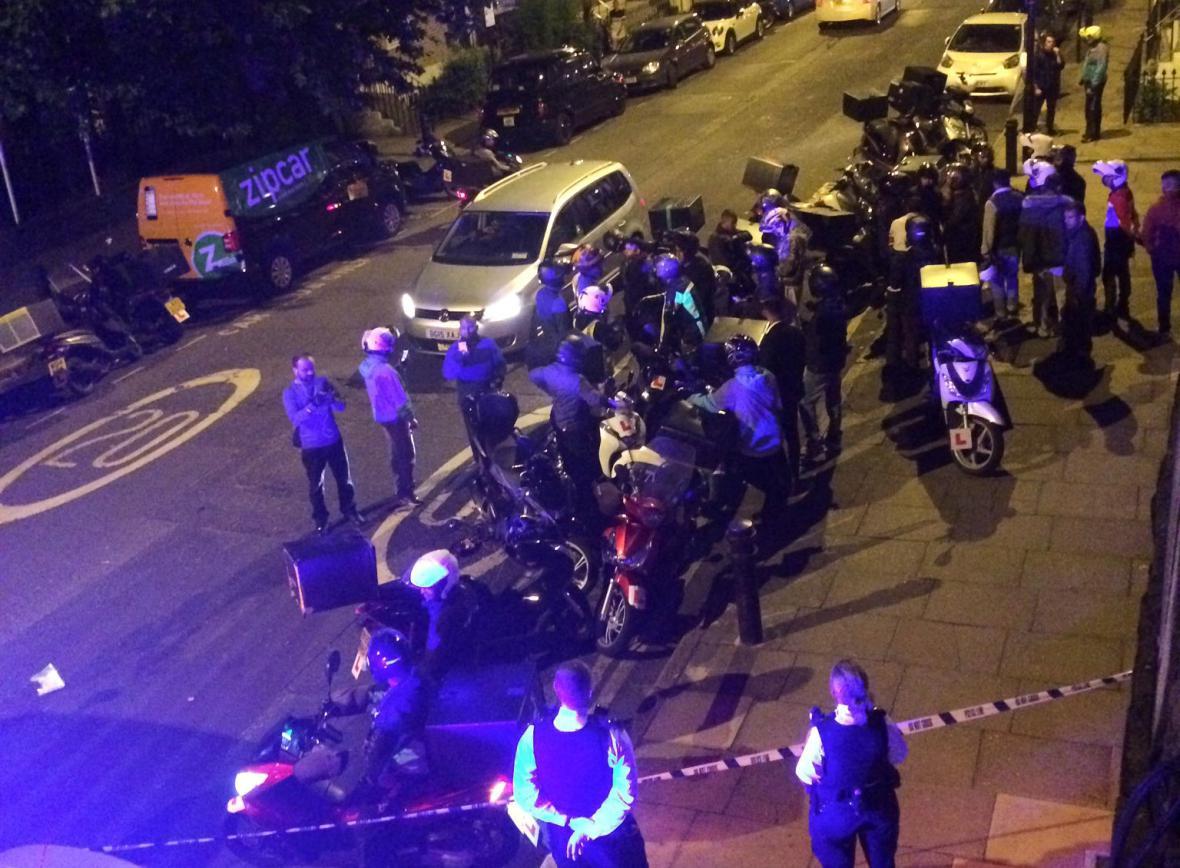 Záchranáři po londýnských útocích kyselinou