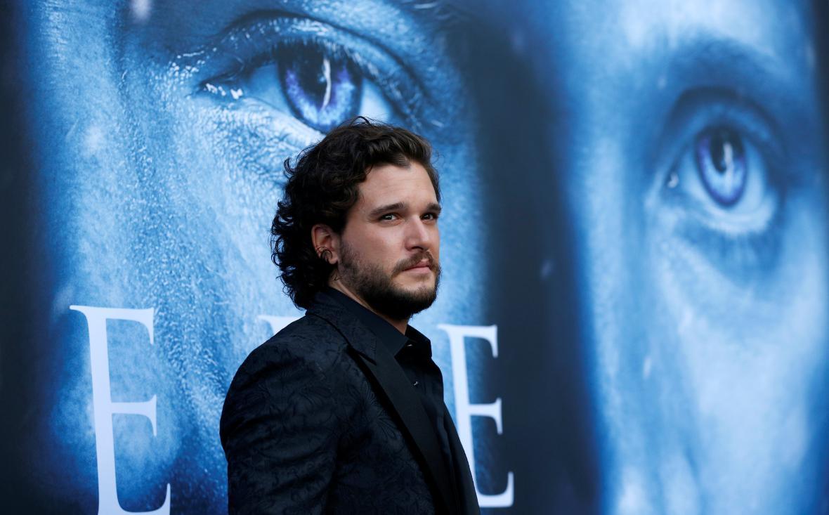 Kit Harington (seriálový Jon Snow)