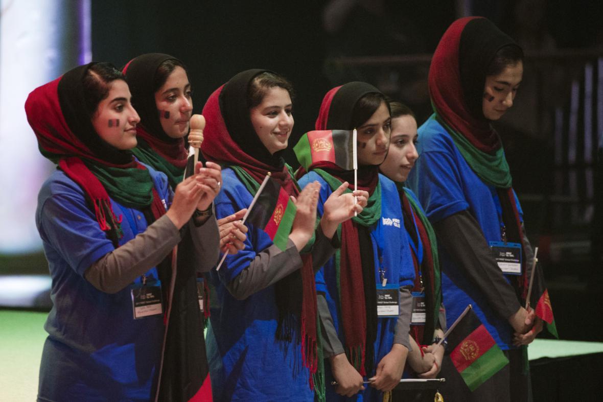 Afghánský robotický tým
