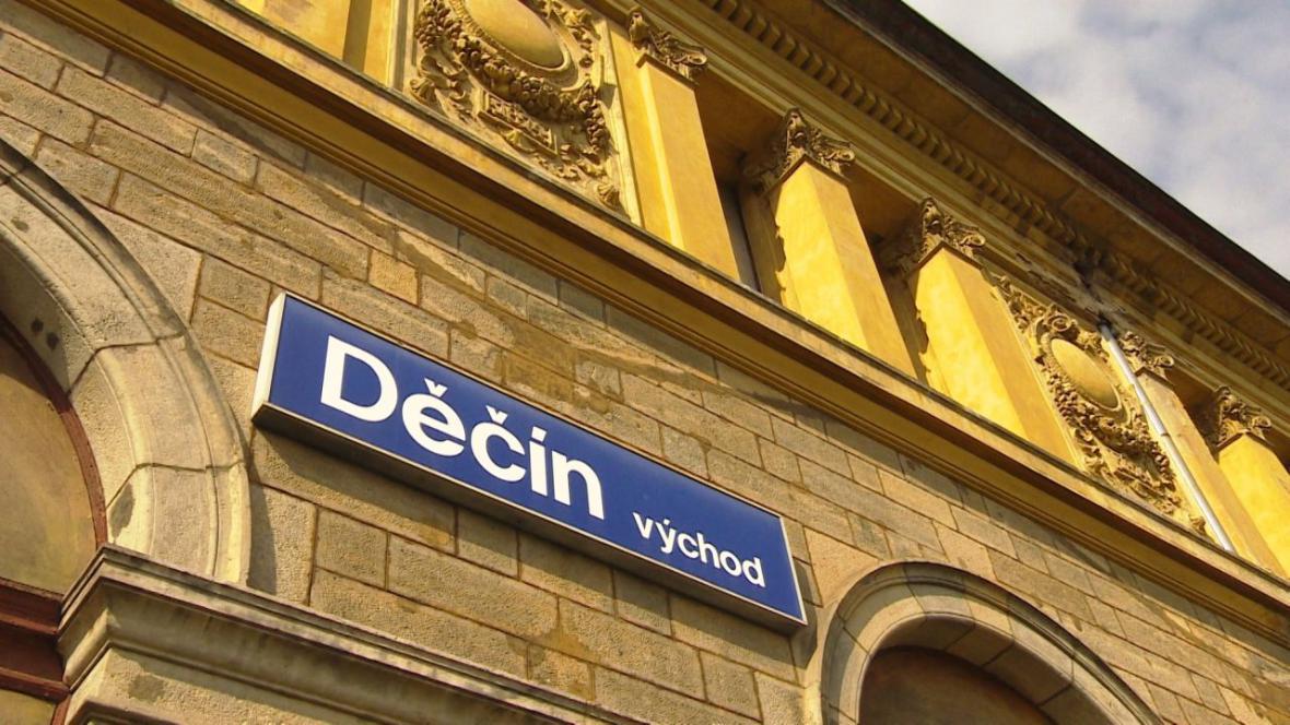 Východní nádraží v Děčíně by mohlo po rekonstrukci sloužit ČVUT