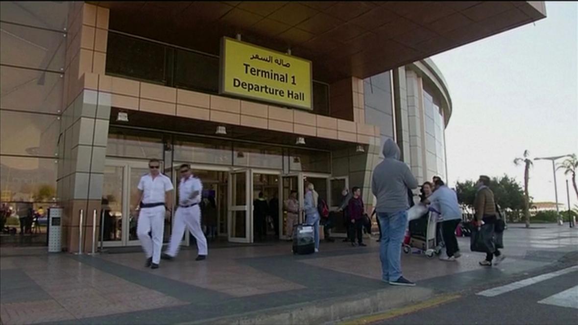 Letiště v Hurghadě