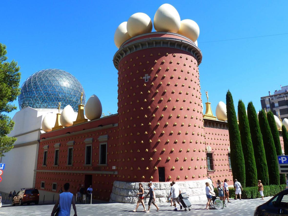 Muzeum Salvadora Dalího ve Figueres