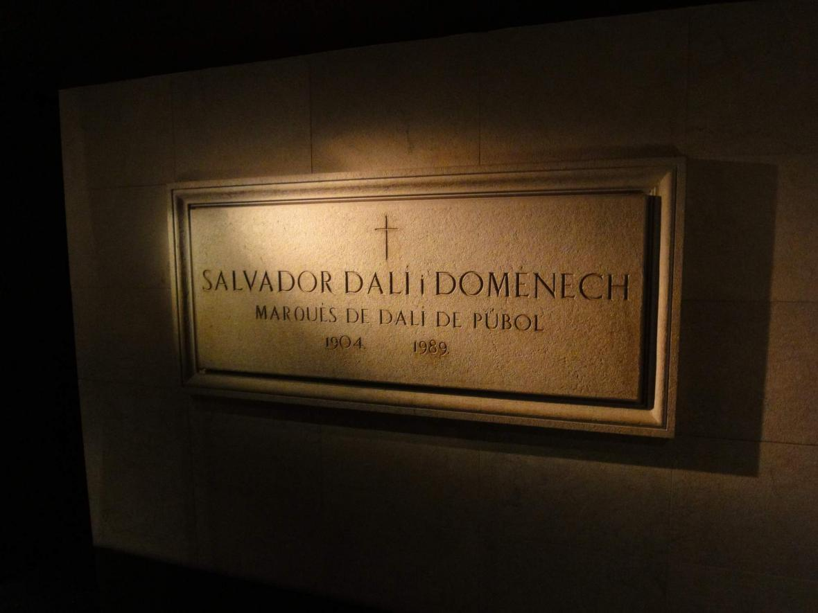 Hrob Salvadora Dalího