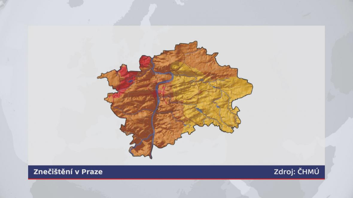 Znečištění v Praze