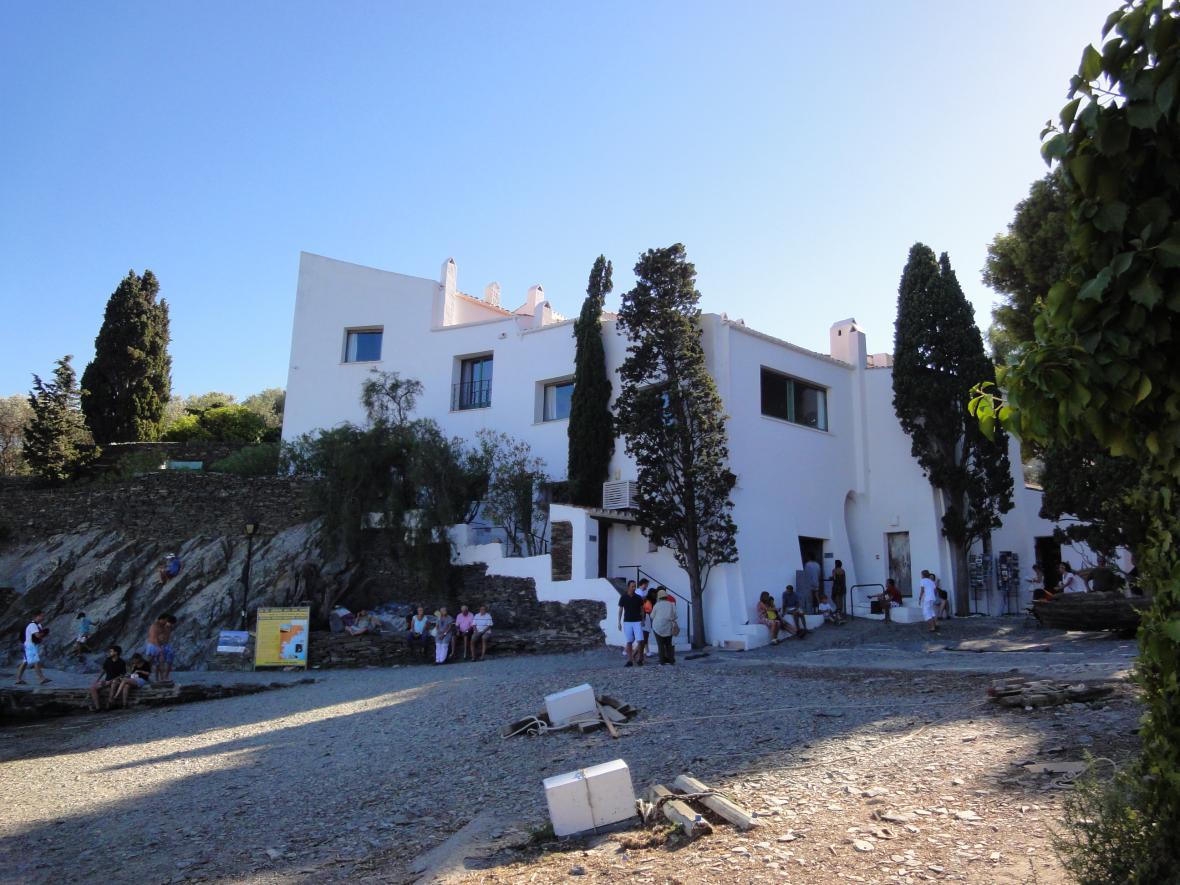 Dům Salvadora Dalího v Cadaqués (Port Lligat)