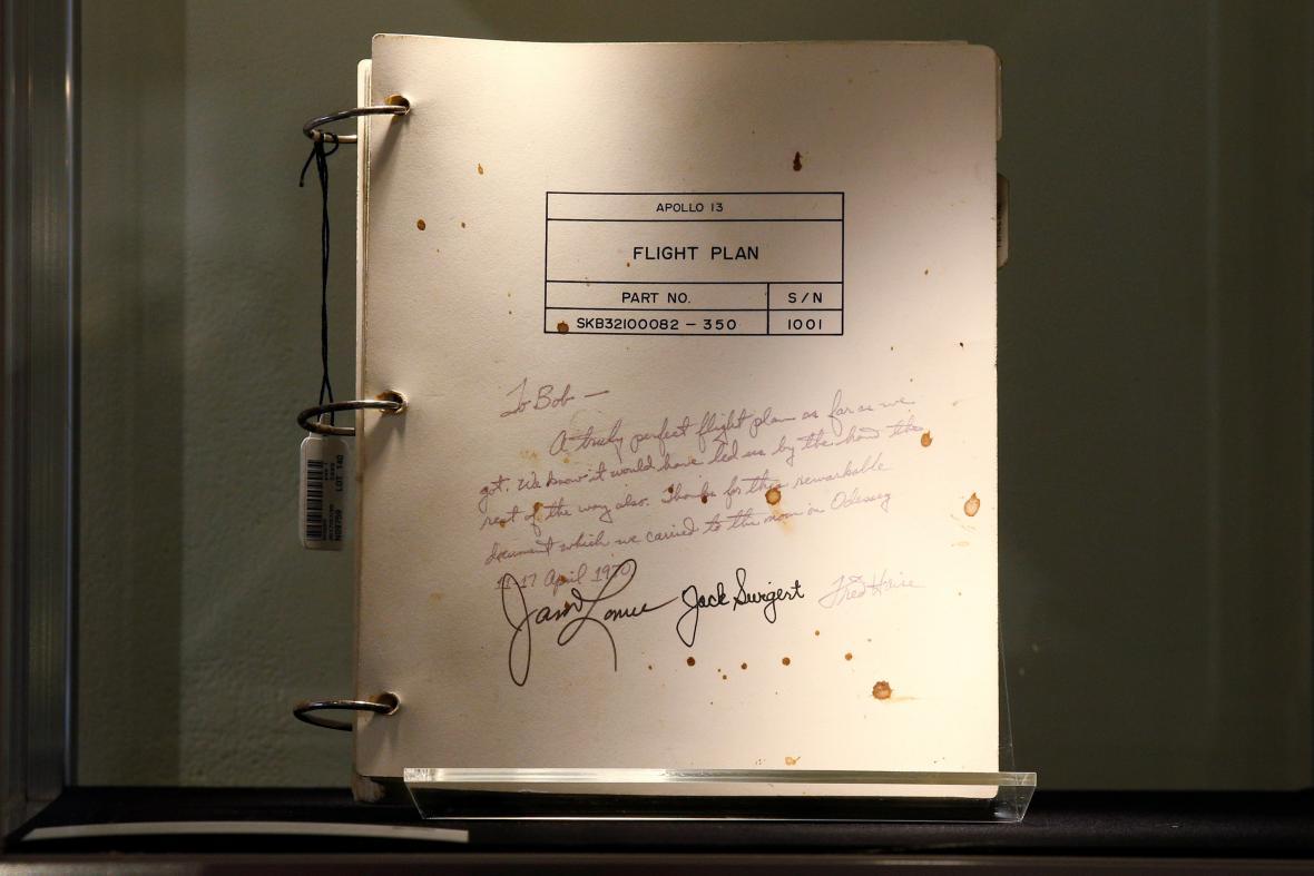 Letový plán Apolla 13