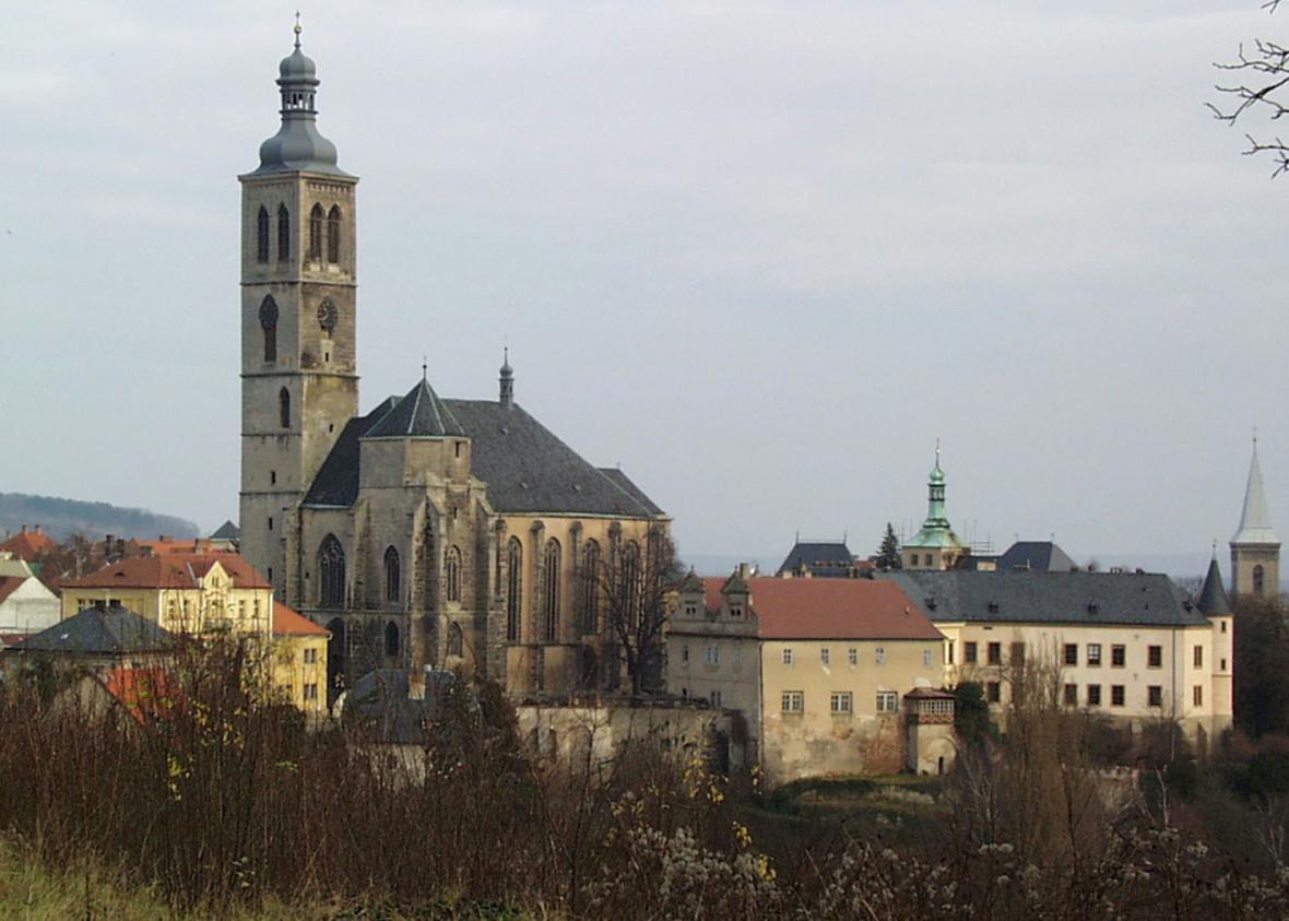 Věž kostela sv. Jakuba v Kutné Hoře