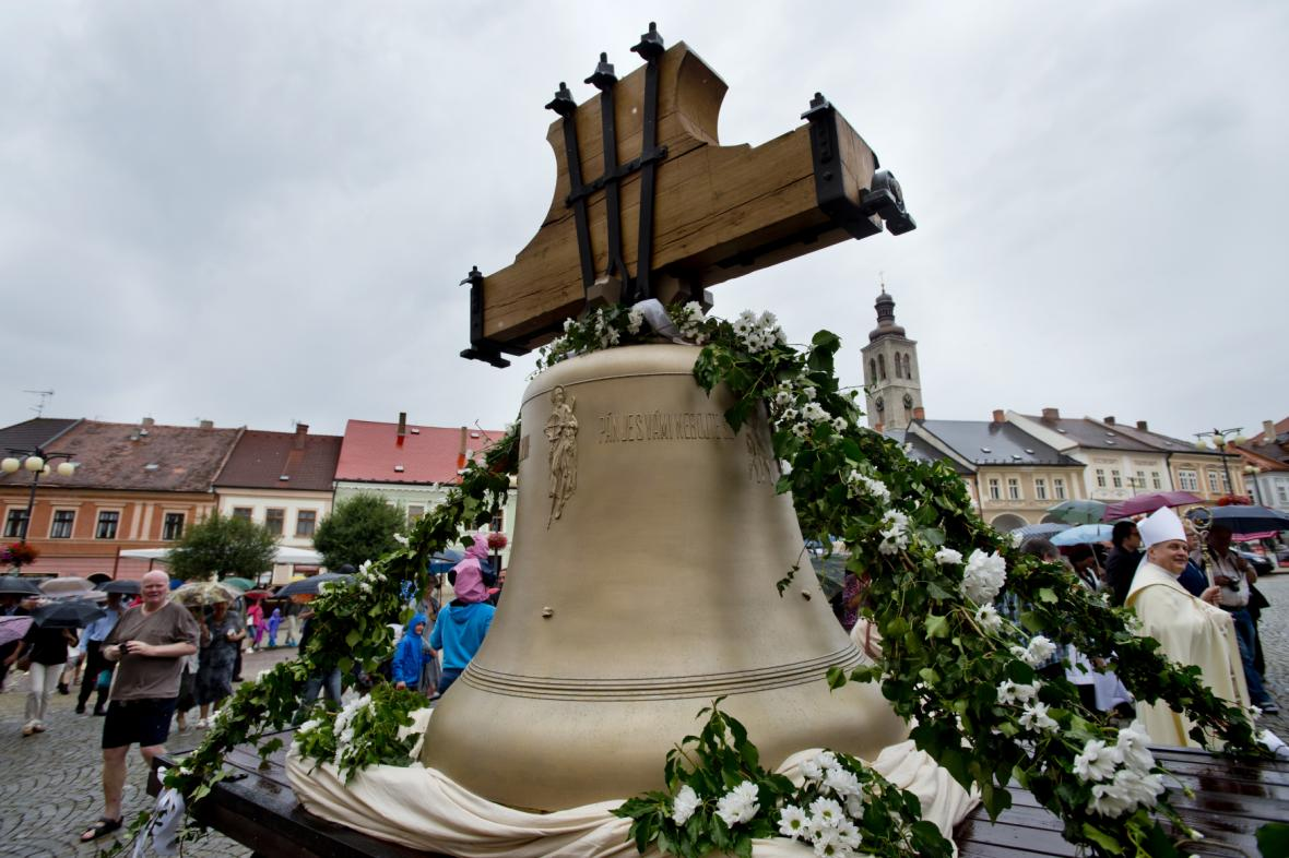 Zvon pro kostel sv. Jakuba v Kutné Hoře