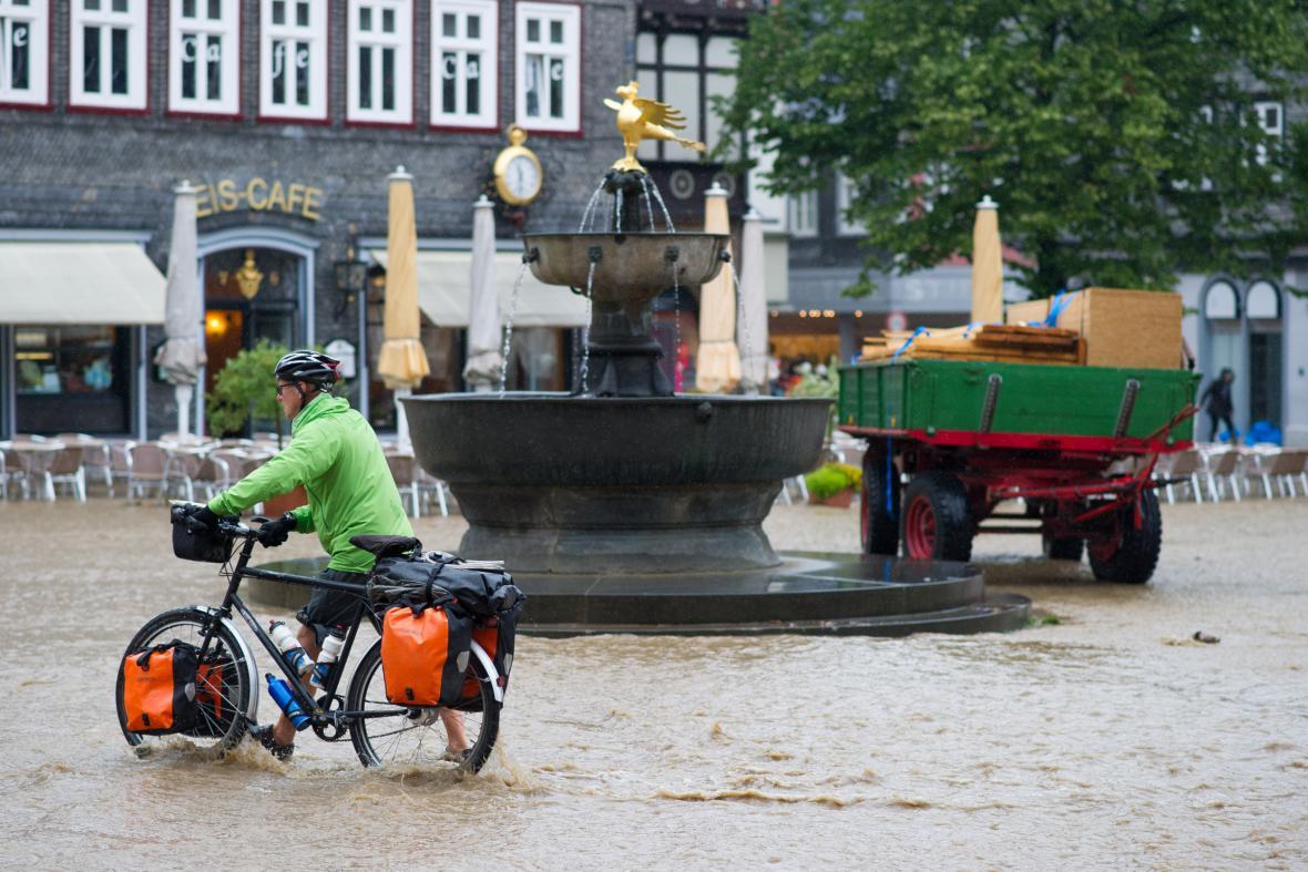 Zaplavený Goslar
