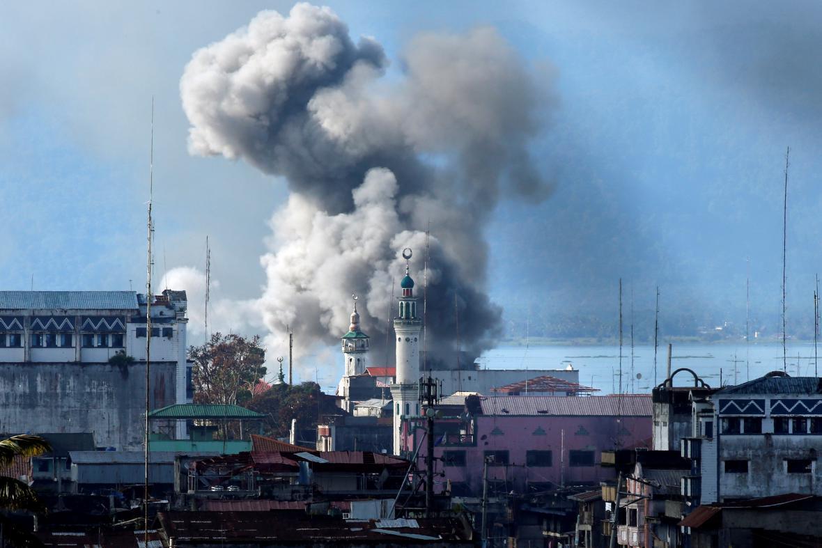 Boje o Marawi