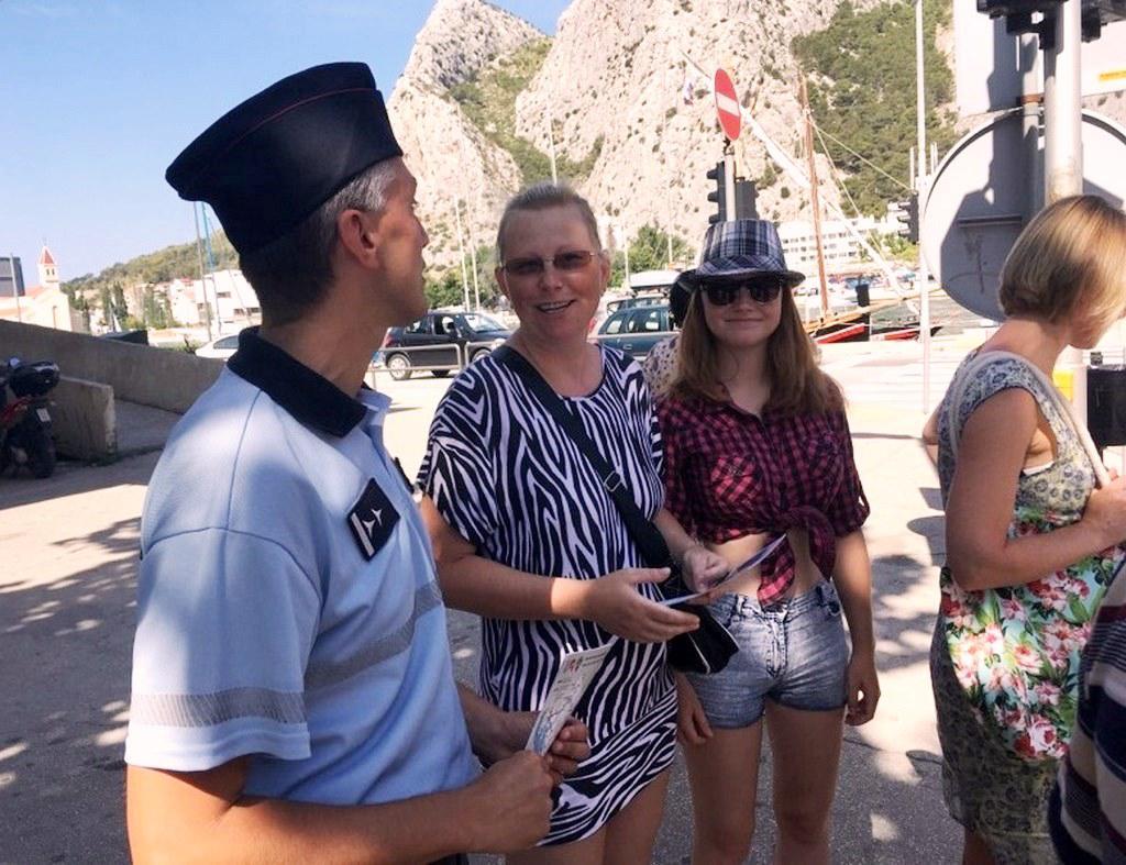 Čeští policisté pomáhají v Chorvatsku