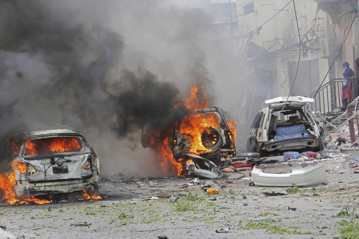 Teroristický útok skupiny Šabáb na jihu Somálska
