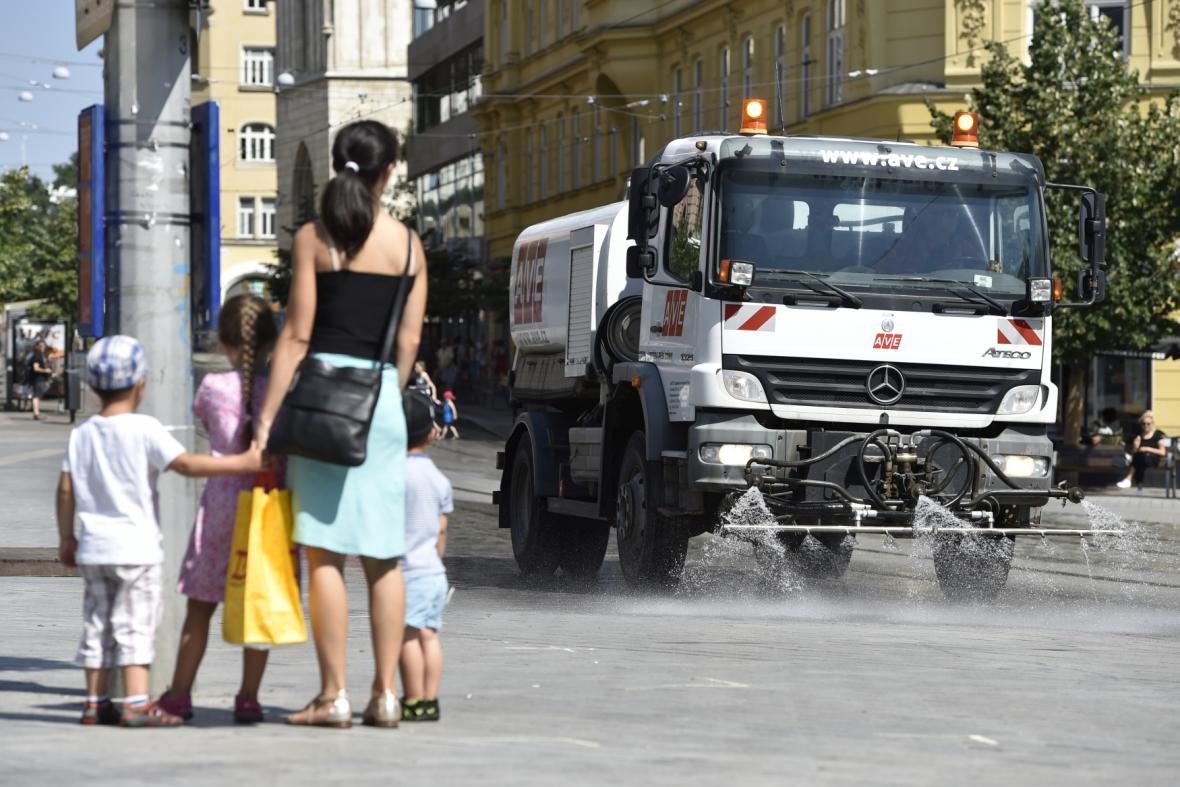 Kropení ulic