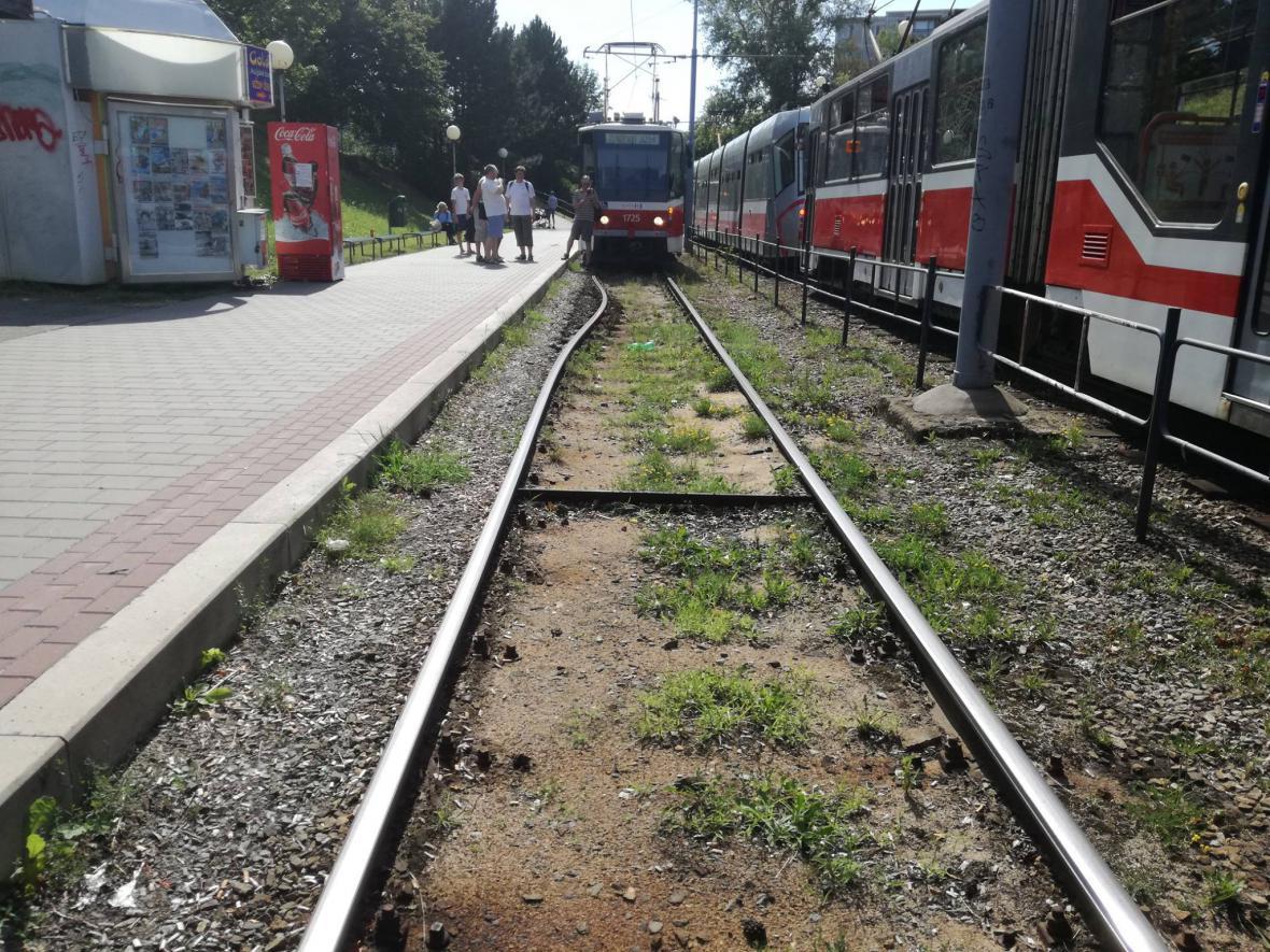 Zdeformované koleje