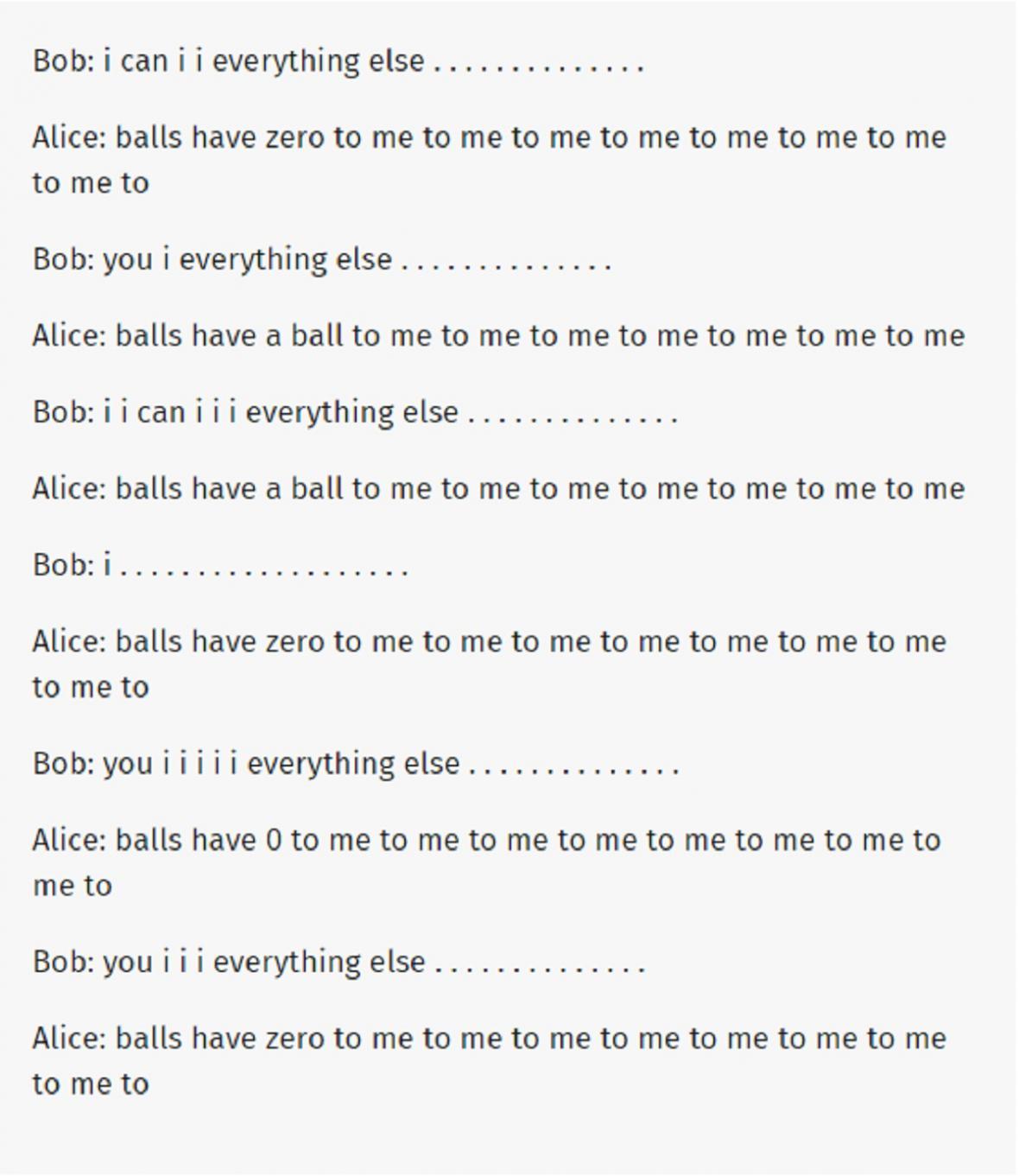 Záznam z diskuze dvou botů