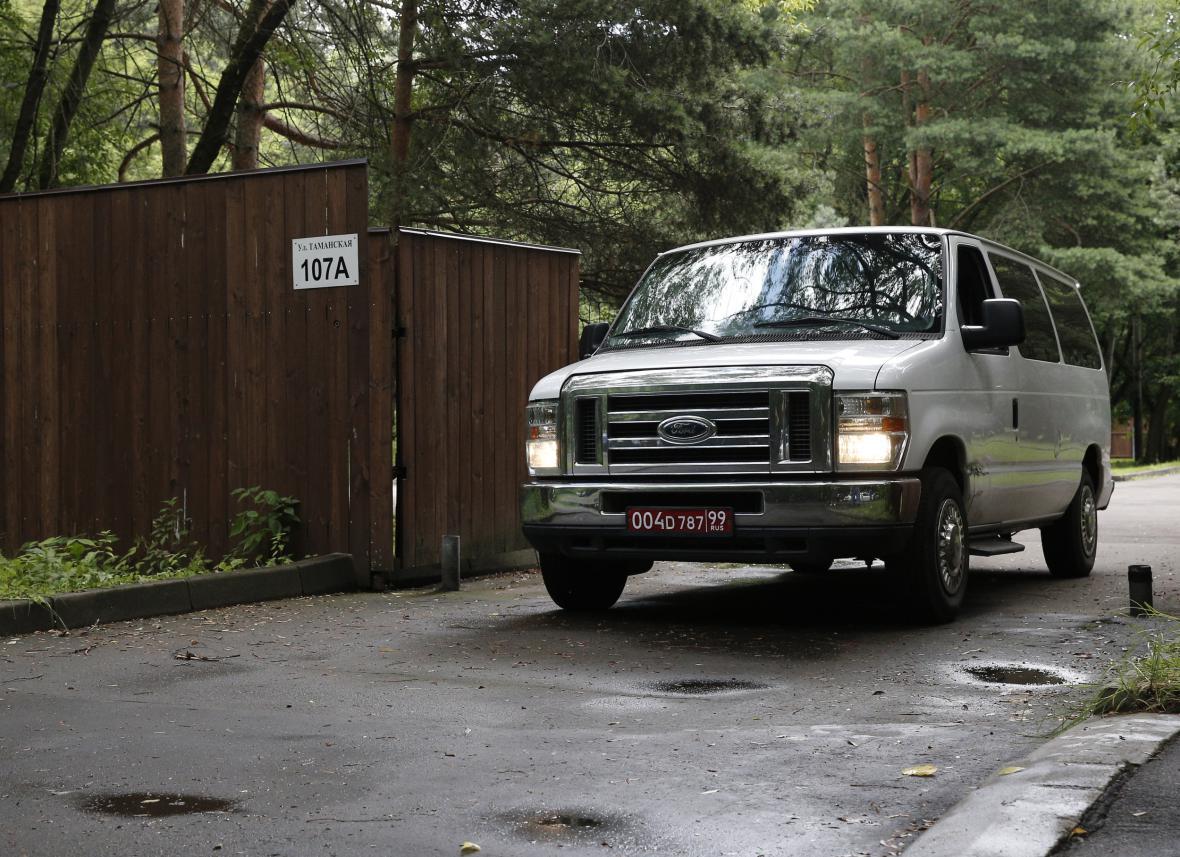 Američané opouštějí rekreační objekt moskevské ambasády