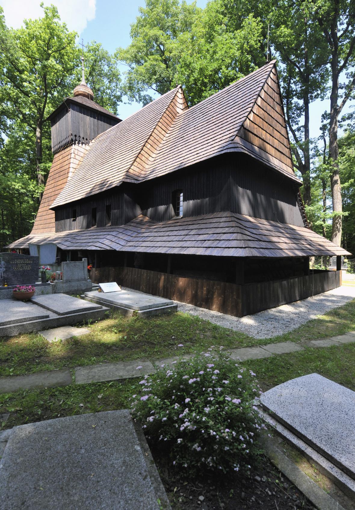 Dřevěný kostel Božího těla (původní podoba)