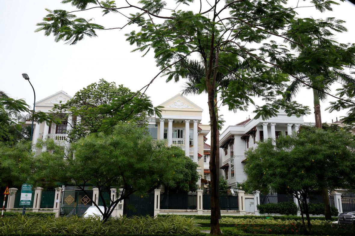 Thanhův dům v Hanoji