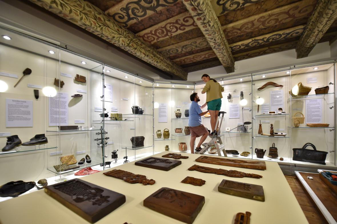 Expozice Život na Blatech a Kozácku (Blatské muzeum)