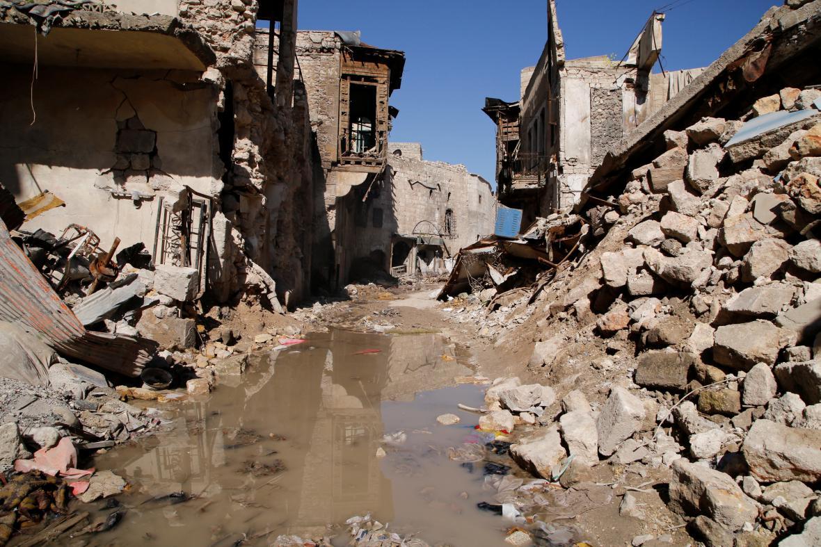 Boje v Aleppu