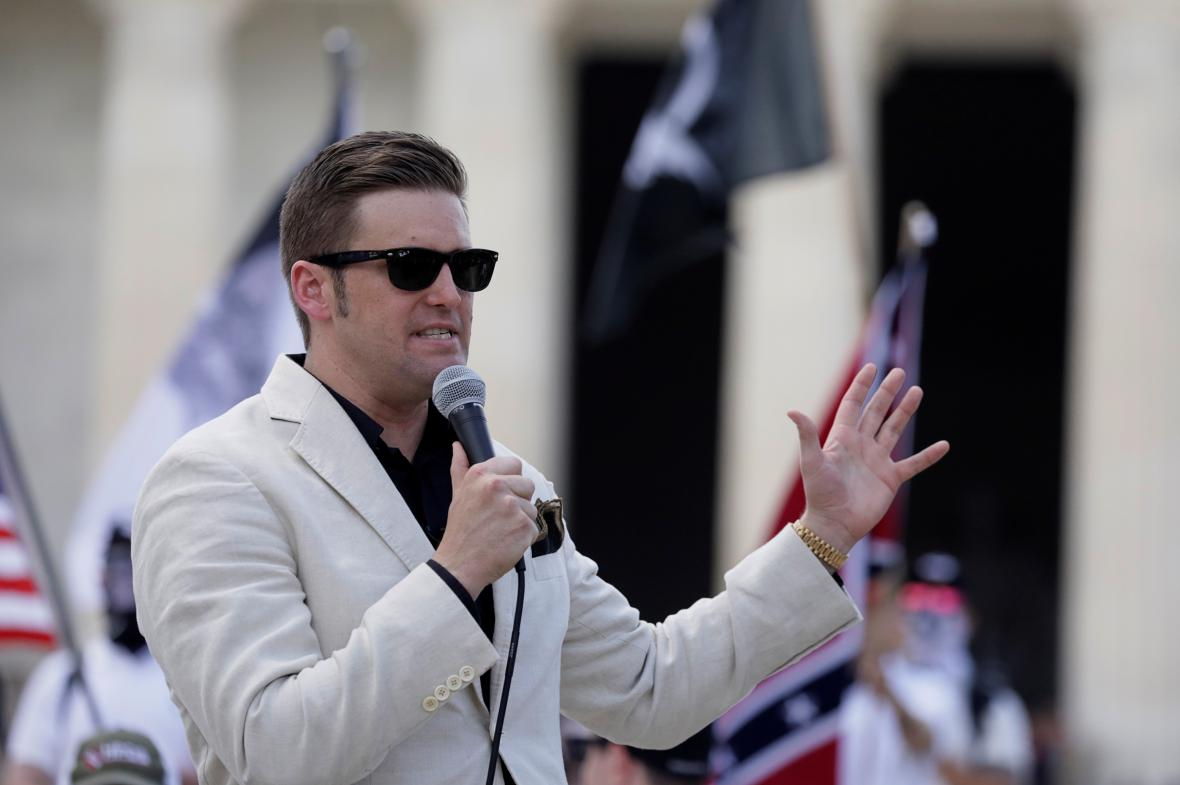 Aktivista a nacionalista Richard Spencer