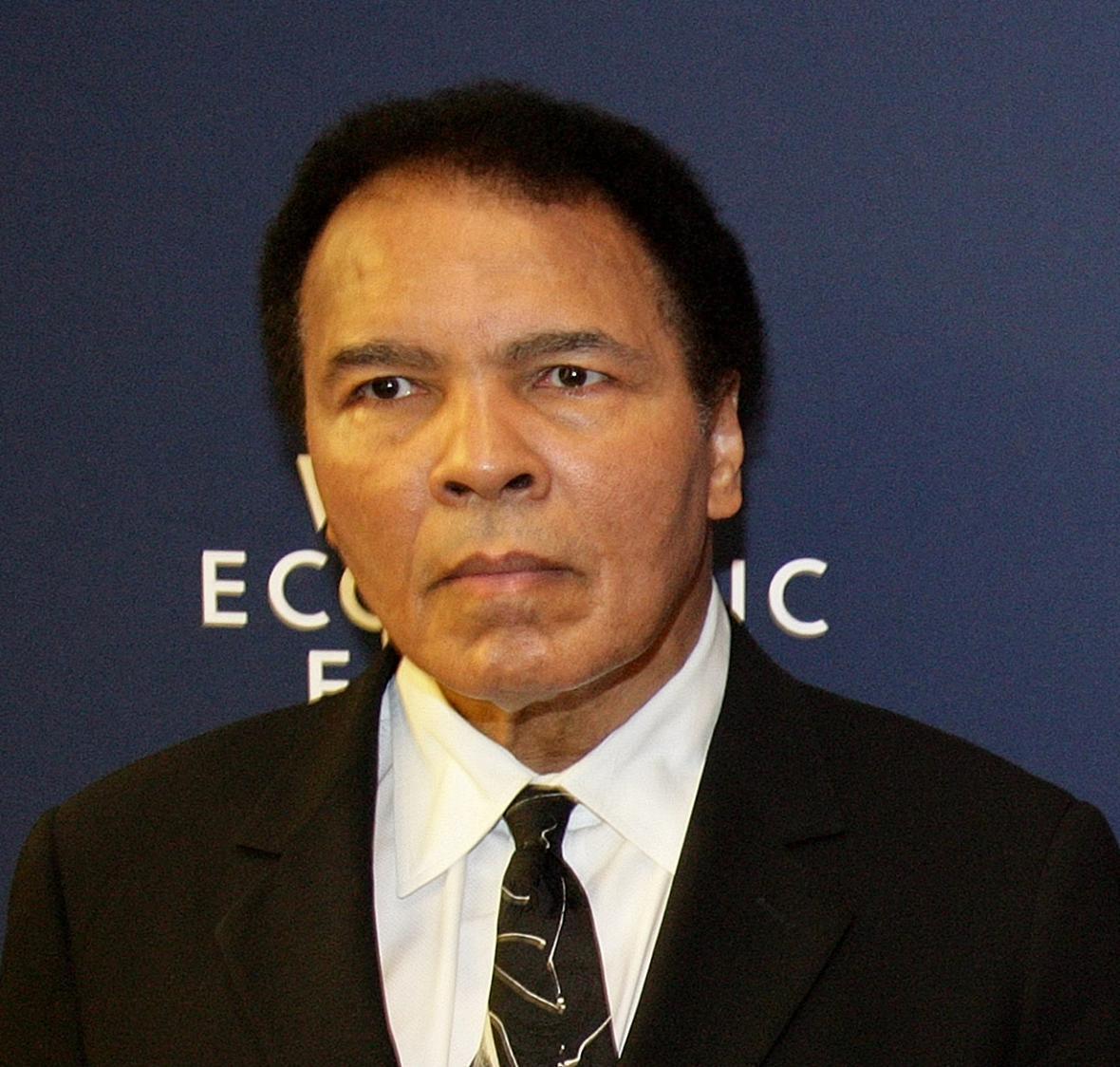 Muhammad Ali, jeden z nejznámějších sportovců s Parkinsonovou chorobou