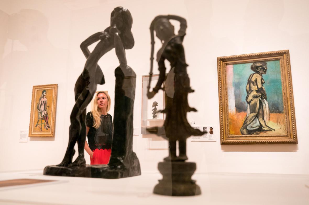 Z výstavy Ateliér Henriho Matisse (Královská akademie umění v Londýně)