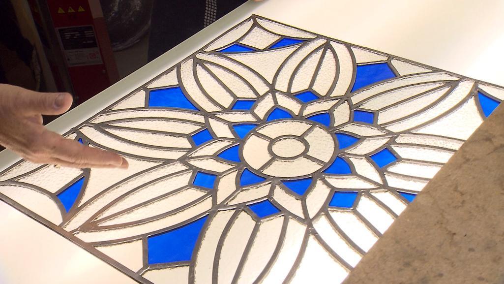 Oprava vitráží v Opavě