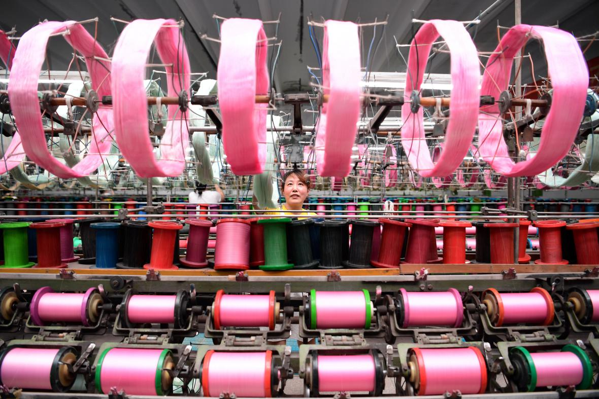 Čínská továrna na hedvábí