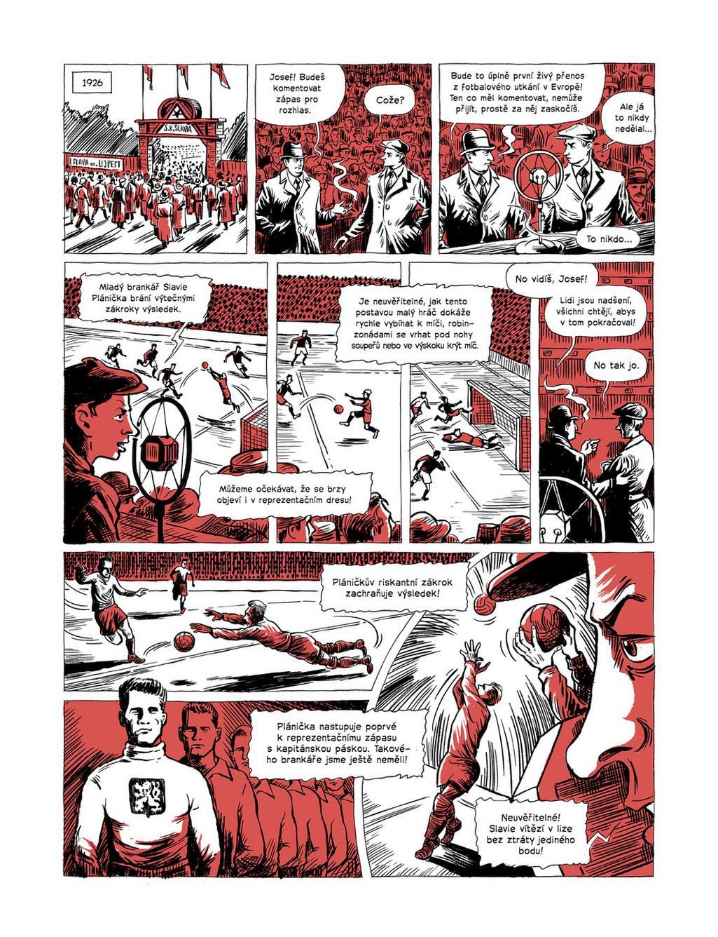 Z komiksu Hrdinové