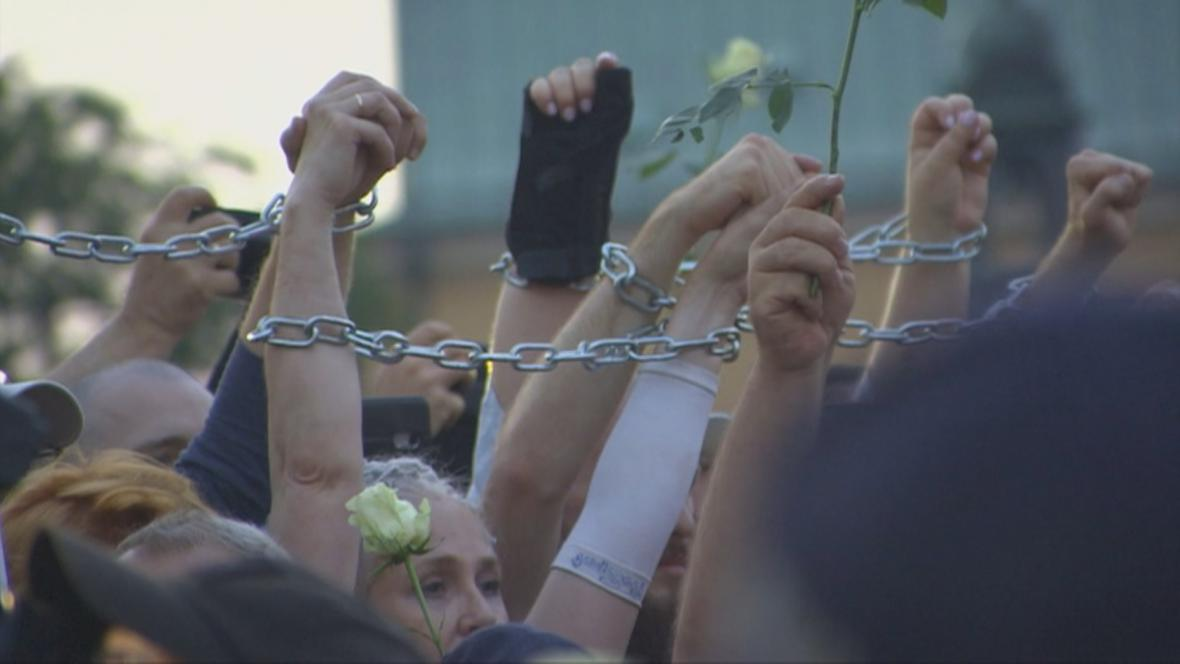 Protest proti směřování Polska