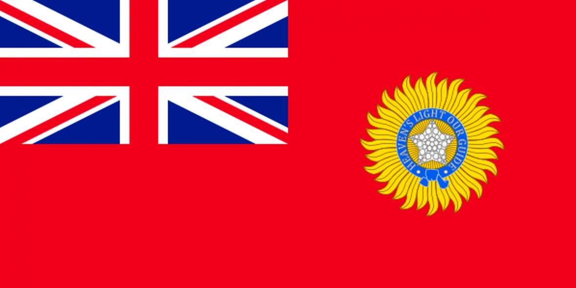 Vlajka Britské Indie