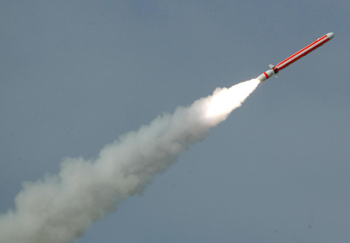 Pákistánská střela s plochou dráhou letu