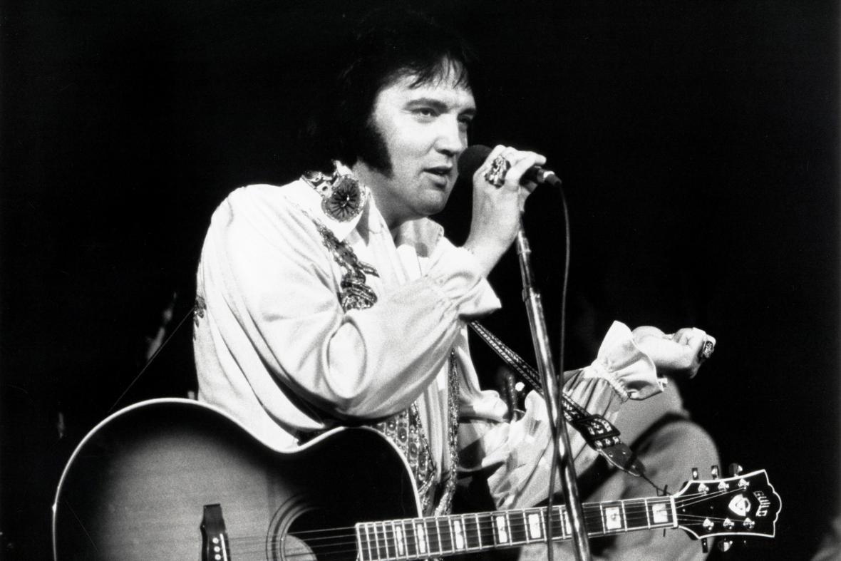 Elvis Presley, 1975