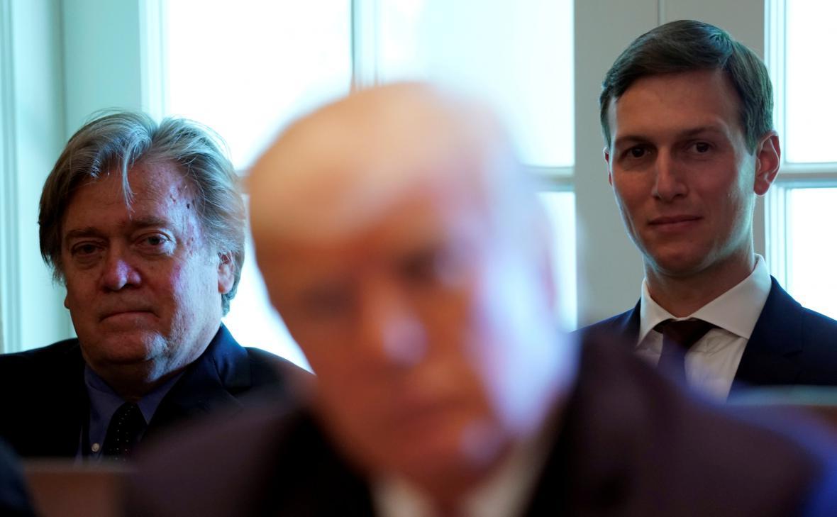 Klíčoví muži Trumpova týmu: Steve Bannon a Jared Kushner