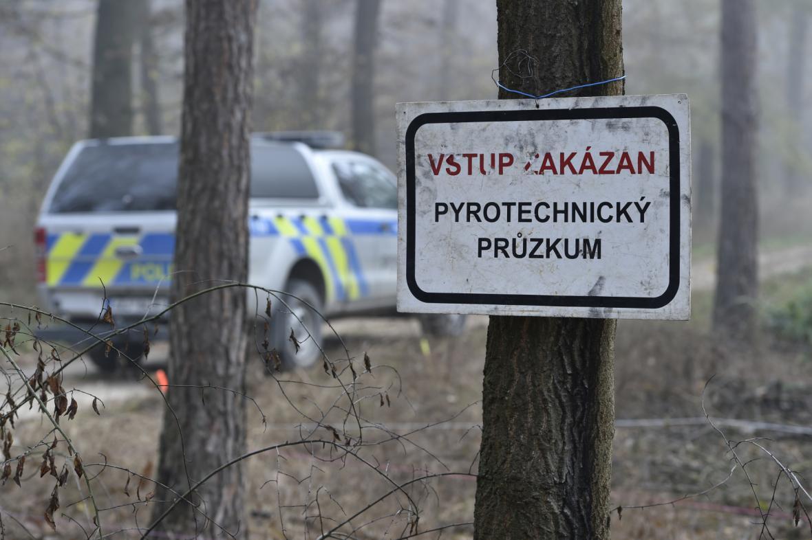 Zákaz vstupu do Bořího lesa