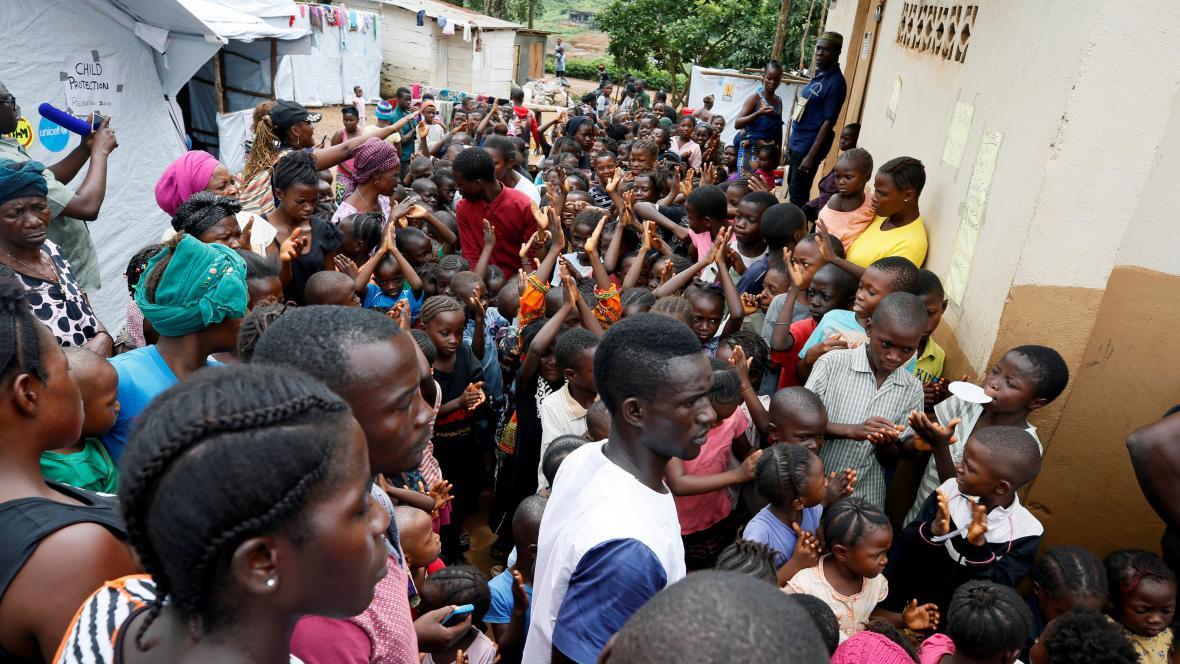 Po sesuvehc půdy v Sieře Leone