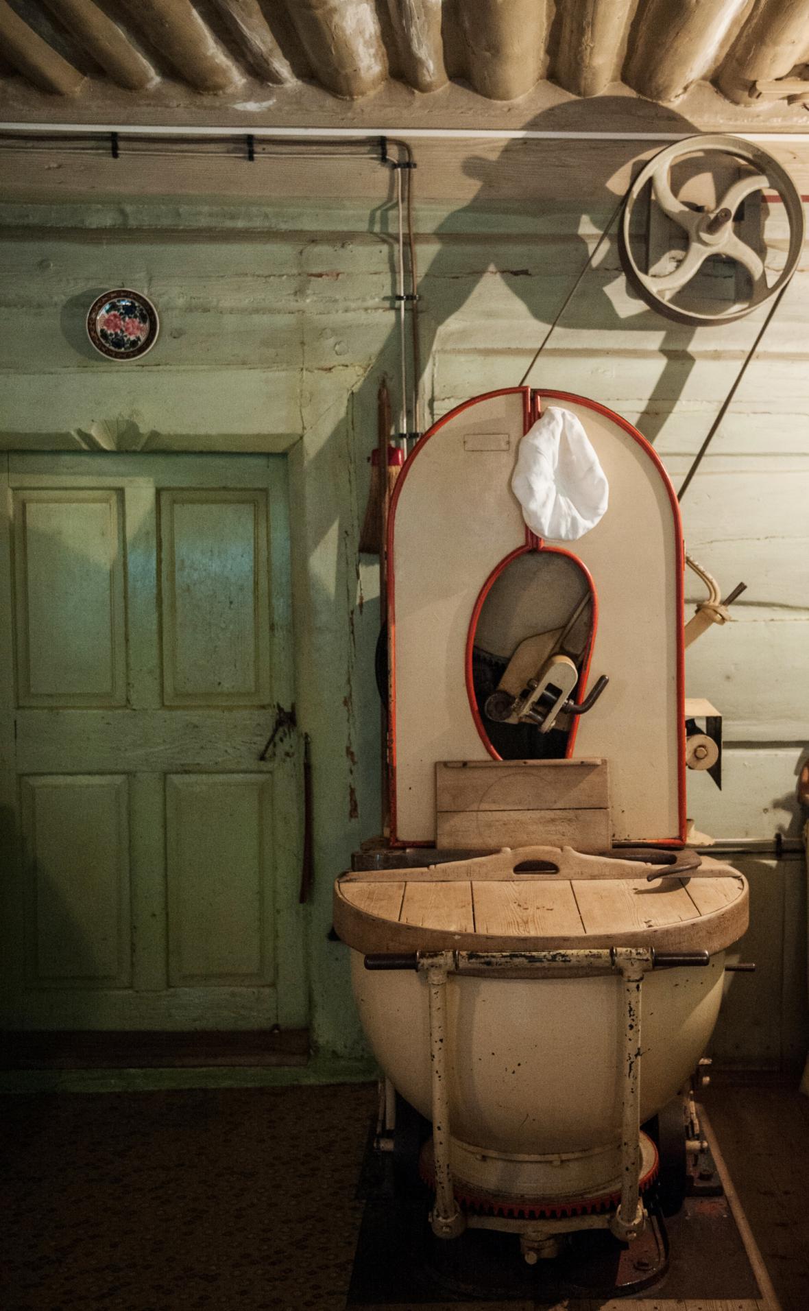 Míchačka na těsto v Janatově mlýně v Buřanech