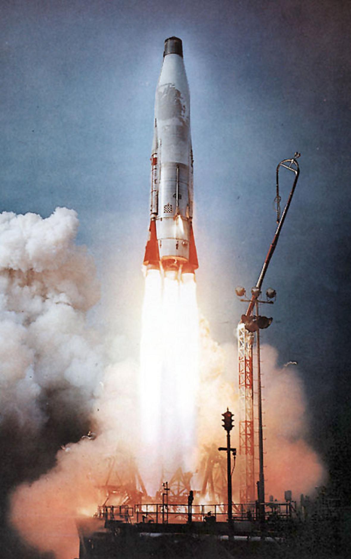 Americká raketa Atlas B
